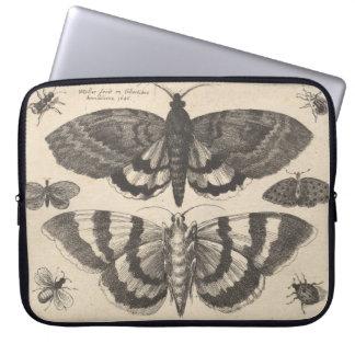 Vintage MotteLepidoptera Laptopschutzhülle