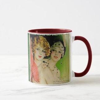 Vintage Nachtleben-Tasse Tasse