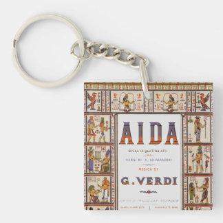 Vintage Opern-Musik, Ägypter Aida durch Verdi Schlüsselanhänger