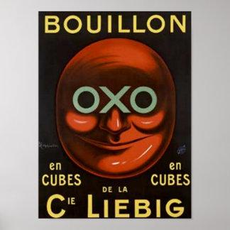Vintage OXOBuillion Anzeige - Cie Liebig