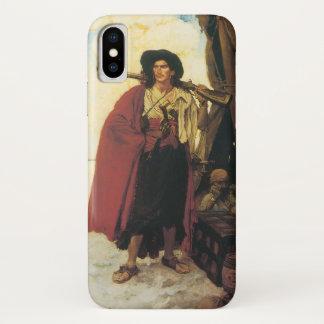 Vintage Piraten Buccaneer waren ein malerischer iPhone X Hülle