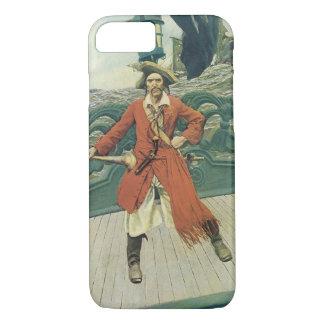 Vintage Piraten, Kapitän Keitt durch Howard Pyle iPhone 8/7 Hülle