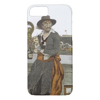 Vintage Piraten, Kidd auf Plattform der iPhone 8/7 Hülle