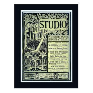 Vintage Postkarte der Replik, das Studio,