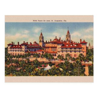 Vintage Postkarte Hotel Ponce Des Leon St