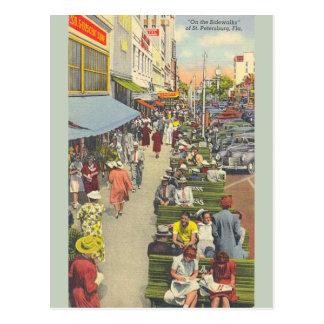 Vintage Postkarte St Petersburg Florida