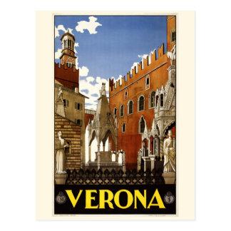 Vintage Postkarte Veronas Italien