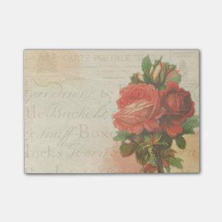 Vintage Postkarten-Post-It Post-it Haftnotiz
