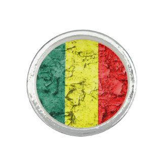 Vintage Reggaeflagge Ring