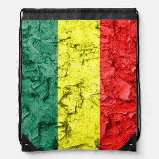Vintage Reggaeflagge Turnbeutel