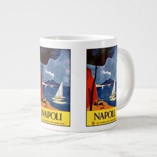 Vintage Reise Napoli Neapel Italien Tassen Jumbo-Tasse