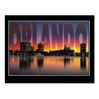 Vintage Reise-Postkarte Orlandos Florida Postkarte