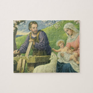 Vintage Religion, Joseph mit Mary und Baby Jesus