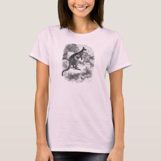 Vintage riesiger Känguru-personalisierte Kängurus T-Shirt