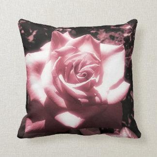 Vintage rosa Rose Kissen