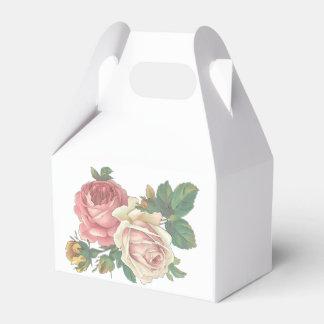 Vintage rosa Rosen-Blume, die BlumenParty Wedding Geschenkschachtel