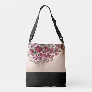 Vintage Rose Crossbody Tasche (Medium)