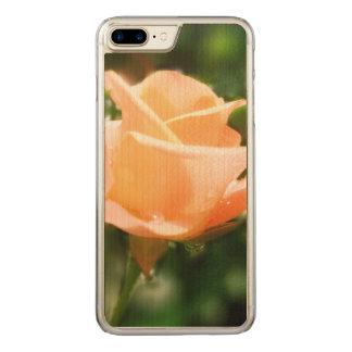 Vintage Rosen-Blumen Carved iPhone 8 Plus/7 Plus Hülle