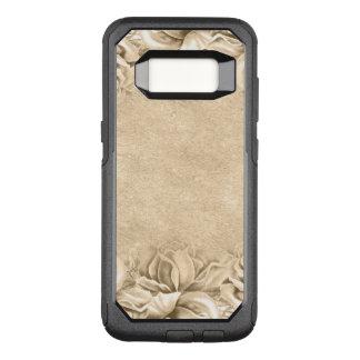 Vintage Rosen Ecru beige Erde tont neutrale Person OtterBox Commuter Samsung Galaxy S8 Hülle