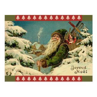 Vintage Sankt-Franzose-Postkarte Postkarte