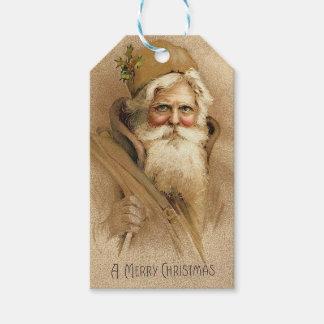 Vintage Sankt Geschenkanhänger