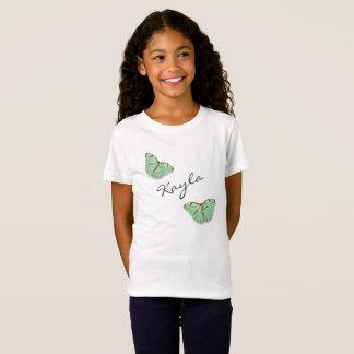 Vintage Schmetterlinge mit irgendeinem Namen T-Shirt