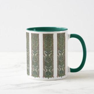 Vintage Seepferd-Marinetiere, Kunst Nouveau Tasse