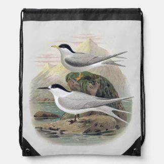Vintage Seevögel der Wissenschafts-NZ - Sportbeutel