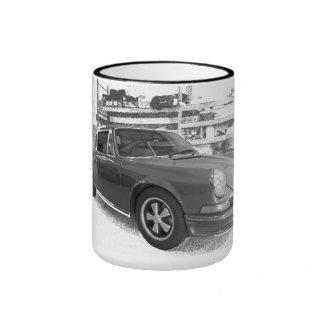 Vintage Sport-Auto-Tasse Ringer Tasse