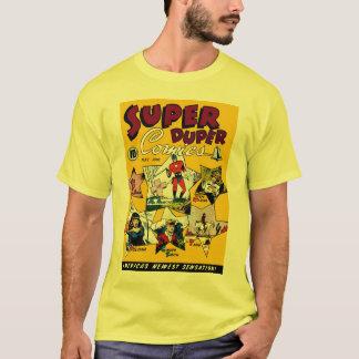 Vintage Superheld-Comic-Cartoon-Kunst T-Shirt