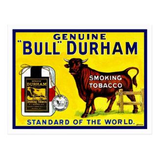 Vintage Tabakanzeige 1890s Stiers Durham Postkarte