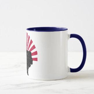 Vintage Texas-Aufflackern-Tasse Tasse