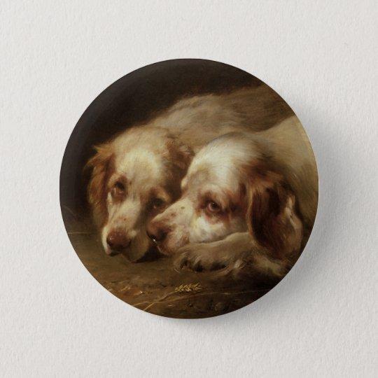 Vintage Tiere, niedliche Runder Button 5,7 Cm