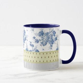 Vintage Trauben-Rebe Tasse