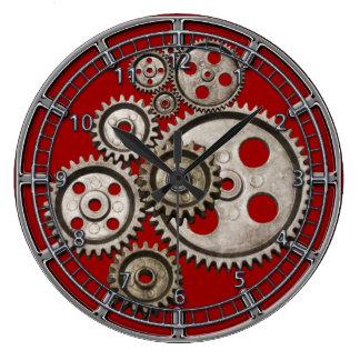 Vintage Uhr der Maschine 2 des steampunk