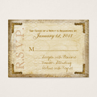 Vintage und Gold-UAWG Karten (klumpige