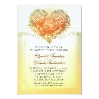 Vintage Verlobungs-Party Einladungen