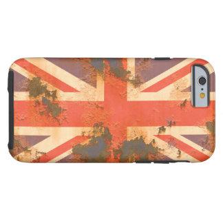 Vintage verrostete Königreich-Flagge Tough iPhone 6 Hülle