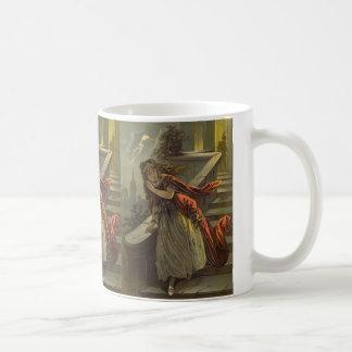 Vintage viktorianische feenhafte Geschichte, Kaffeetasse