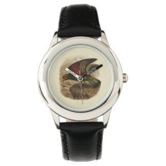 Vintage Vögel der Wissenschafts-NZ - Kea Kinderuhr Uhr