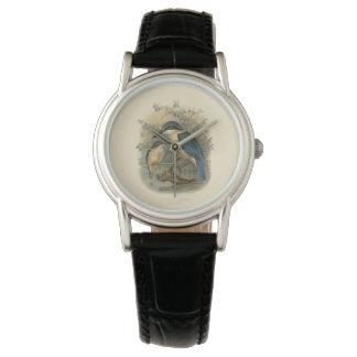 Vintage Vögel der Wissenschafts-NZ - NZ Eisvogel Armbanduhr