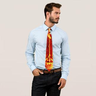 Vintage Waratah Buchbindung mit Zickzack Krawatten