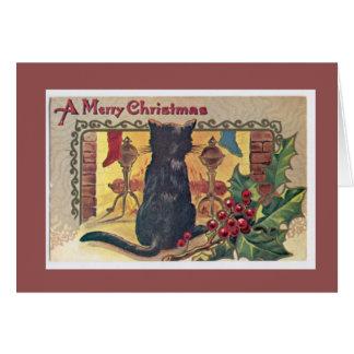 Vintage Weihnachtskarten Karte