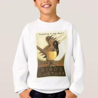 Vintage Werbung, Vogel-Vanillepudding Sweatshirt