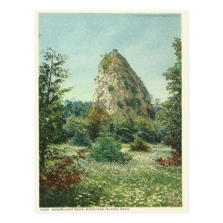 Vintage Zuckerlaib-Felsen Mackinac Insel Michigan Postkarte
