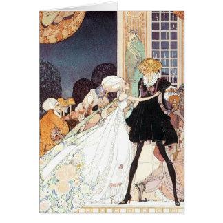Vintage zwölf tanzende Prinzessinnen durch Kay Karte