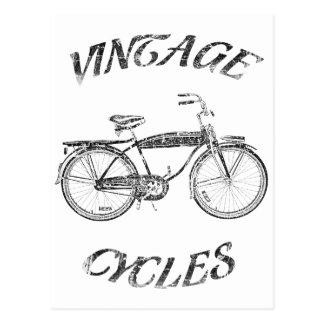 Vintage Zyklen Postkarte
