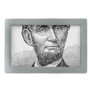 Vintager Abe Lincoln Fehlschlag Rechteckige Gürtelschnalle