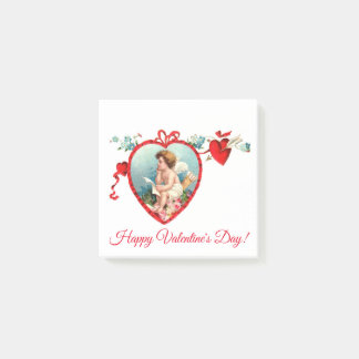 Vintager Amor des Valentines Tages Post-it Klebezettel