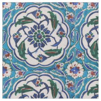 Vintager antiker Ottoman türkische Iznik Fliese Stoff
